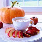 Caramel Apple Dip Raw and Vegan Recipe from Planted365 #halloween #veganhalloween #plantbasedhalloween #caramel #vegancaramel