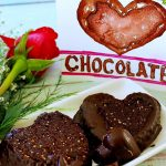 Chocolate Cherry Hearts Vegan Plant-Based Recipe Valentines Watercolor Planted365.com Planted 365 Lisa Viger Art