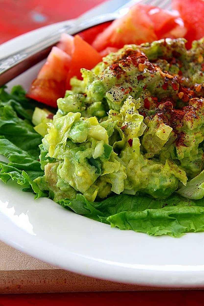 Deviled Avocados Vegan Plant Based Raw Food Recipe Planted365