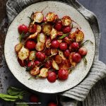 The Truly Healthy Vegan Cookbook by Dianne Wenz Planted365 Chili Lime Roasted Radishes