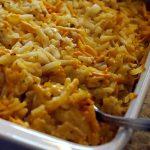 Vegan Cheesy Hash Brown Potato Casserole Cheesy Potatoes Funeral Potatoes Holiday Vegan Recipe Planted365 #vegancheese #cheesypotatoes #vegancheesypotatoes #vegancasserole